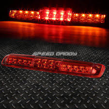 silverado third brake light red housing led 3rd third brake cargo light for 99 07 chevy silverado