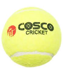 Cosco Light Weight Cricket Ball Cosco Pack Of 6 Light Weight Cricket Tennis Ball