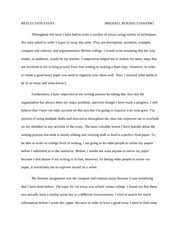 reflection paper reflection essay mikhael boedhi tjahjono  reflection paper reflection essay mikhael boedhi tjahjono throughout this term i have had to write a number of essays using variety of techniques we