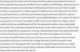 millennials having less sex than their irresponsible parents are millennials having less sex than their irresponsible parents are so wacky