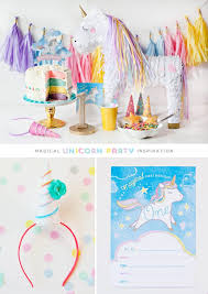 Diy Party Printables Simple Sweet Unicorn Birthday Party Ideas Hostess With