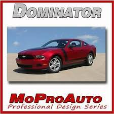 Details About Boss Ford 3m Pro Grade Mustang Hood Side Stripes Graphic Decals 2011 536