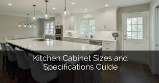 kitchen cabinet sizes and