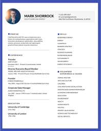 The Best Resume Template 100 Most Professional Editable Resume Templates For Jobseekers What 2