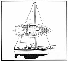 cay of sea watkins 27 middl sailing line drawings
