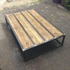 coffee table steel frame revive joinery custom reclaimed wood coffee table with box steel frame steel