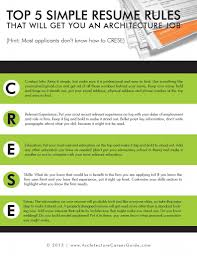 Resume For Architecture Job Resume Architecture Career Guide 97