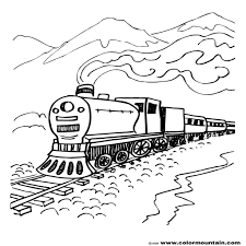 steam engine coloring train page create a printout or activity steam