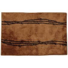 barbed wire tan bath rug blue and tan bathroom rugs