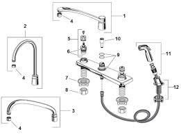 kitchen sink sprayer parts more image ideas