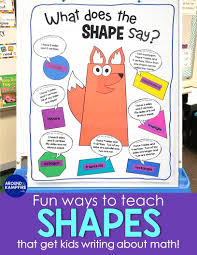 Seriously Fun Ways To Teach Shapes Around The Kampfire