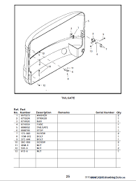bobcat e d series excavator parts manual preliminary enlarge