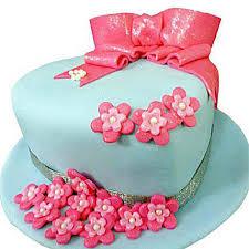 Fondant Hat Cake 2kg Vanilla