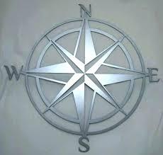 compass rose wall art astonishing compass rose wall art nautical decor incredible metal outdoor compass rose