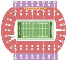 Spartan Stadium Seating Chart East Lansing