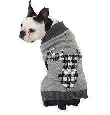 Petrageous Designs Dog Sweater Petrageous Designs Buffalo Check Elk Dog Sweater Small