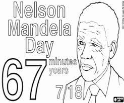 Kleurplaat Dag Van Nelson Mandela Kleurplaten