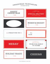 Free Christmas Gift Tag Printable U0026 Holiday Cheer HiccupChristmas Gift Tag Design
