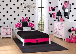 Bedroom Sets ~ Minnie Bedroom Set Mouse Wooden Twin Collection Girls ...