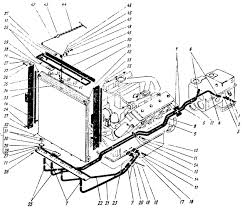 Система смазки двигателя ЯМЗ НБ Трактор К a
