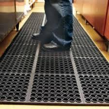 rubber floor mats. Plain Floor Holes Hollow Ring Non Slip Anti Fatigue Rubber Floor Mats For