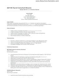 Sap Hr Resume Sample Inspiration 48 48 Sap Hcm Resume Hr Tester Tylermorrisonco