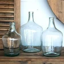 large round glass vase make your change jar hard to get at huge glass vase large