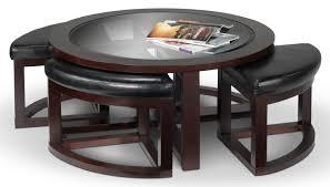 full size of emma coffee table w four ottomans espresso leons bar stools fridge worlds finest