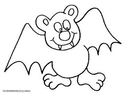Bats Coloring Pages Bat To Print Rouge The Baseball Halftraininginfo