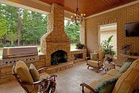 Outside Fireplace Design Ideas Outdoor Fireplace attached to House