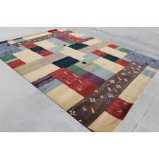 rst16 gorgeous wool silk contemporary tibetan area rug 9 x 12 handmade in nepal