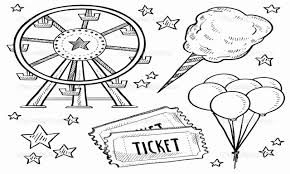 carnival coloring sheets 7457 new