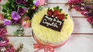 Jual Birthday Cheese Cake Simple Di Lapak Land Land998