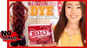 How To Dye Your Hair With Jell O Youtube Can U Dye Ur Hair During Pregnancy