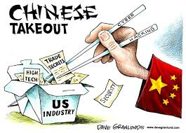 Image result for china cyber crime cartoon