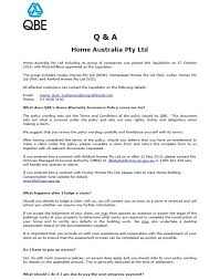 qbe home warranty insurance claim form allaboutyouth net