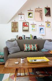 5 creative ways to hang artwork without a frame at home in love