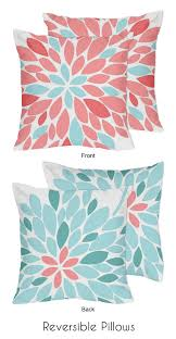 turquoise and c emma 4pc twin girls teen bedding set by sweet jojo designs only 119 99