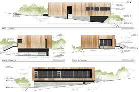 modern architectural drawings. Modern Cabin Elevations Drawings Bob Borson | Small Homes Pinterest Architecture Architectural E