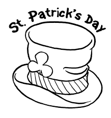 Small Picture St Patricks Day and Leprechauns Hat Coloring Page Batch Coloring