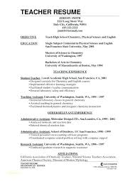 Sample Resume Teaching Sample Resume For Teachers High School Sample ...