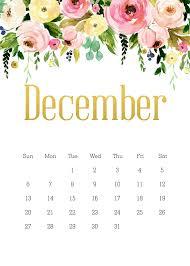 Floral December 2020 Calendar ...