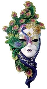 Mask Decorating Ideas Mardi Gras Art and Crafts with Peacock Decorations Peacock mask 10