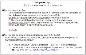 Wikipedia Layout Template Having Undergraduates Write For Wikipedia Association For