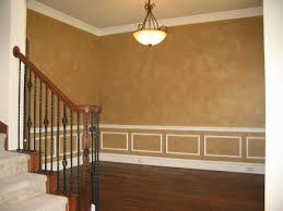 Incridible Yellow Faux Painted Walls. Tremendous