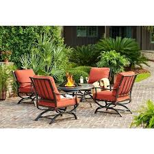 best outdoor living images on bay fire pit hampton dining set patio table