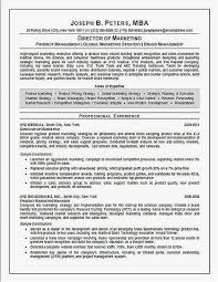 Sales Executive Resume Format Director Of Marketing Resume Example