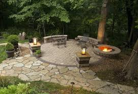 Backyard Fire Pits And Patios Backyard Patio Ideas With Fire Pit