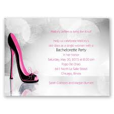 bachelorette party invite high heel bachelorette party invitation invitations by dawn