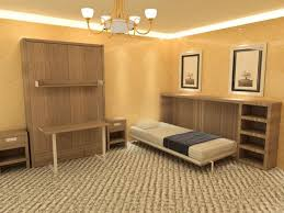 wall bed option 2 made from veneered board